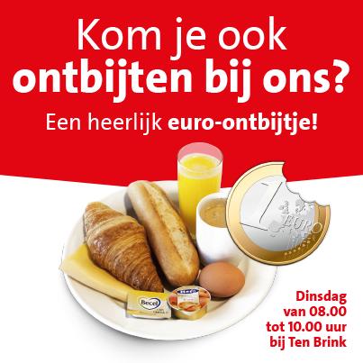 ontbijt hema 1 euro