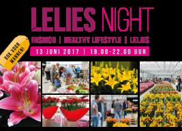 Lelies night 2017 uitnodiging
